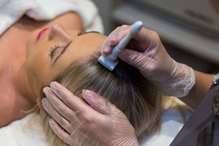 Мезотерапия кожи головы